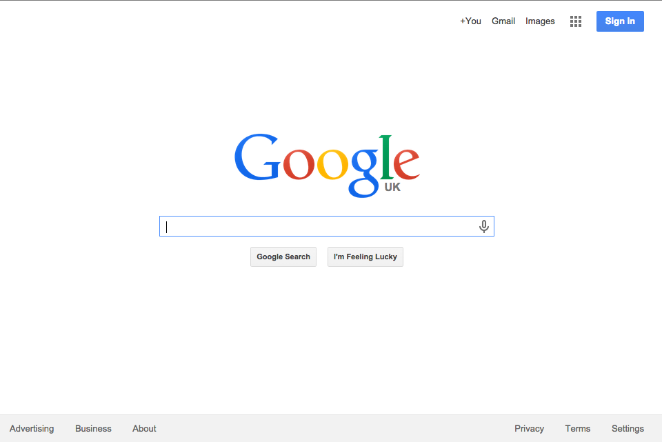 The Odin Project - Google Homepage Build
