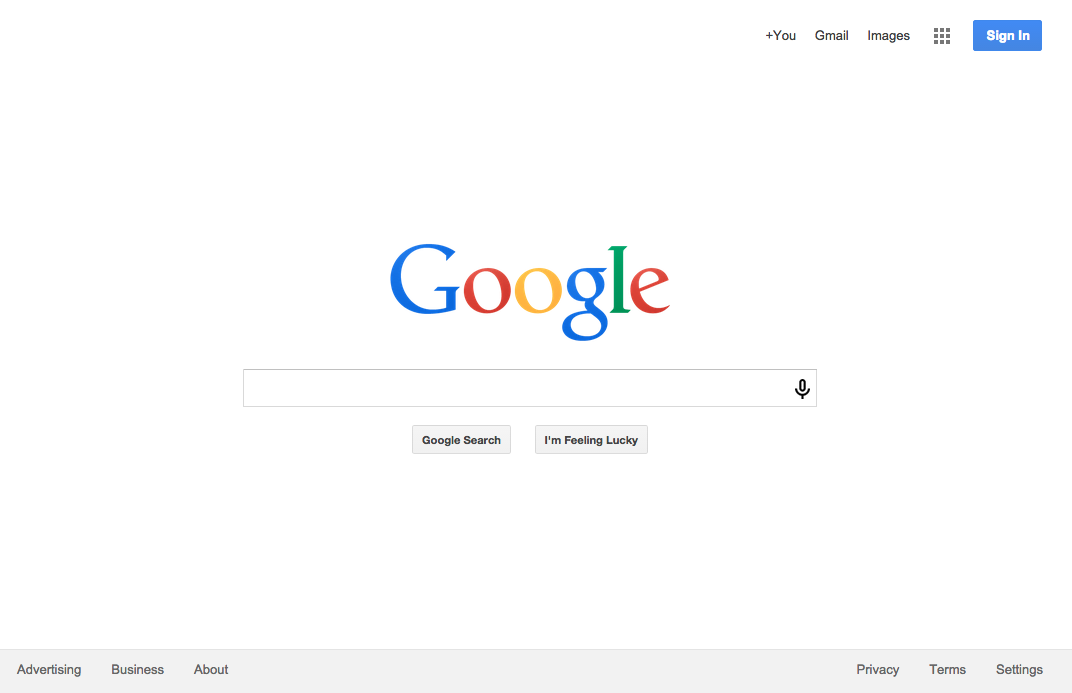 Josh Archer rebuild of Google homepage for The Odin Project