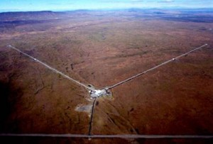 LIGO from the air